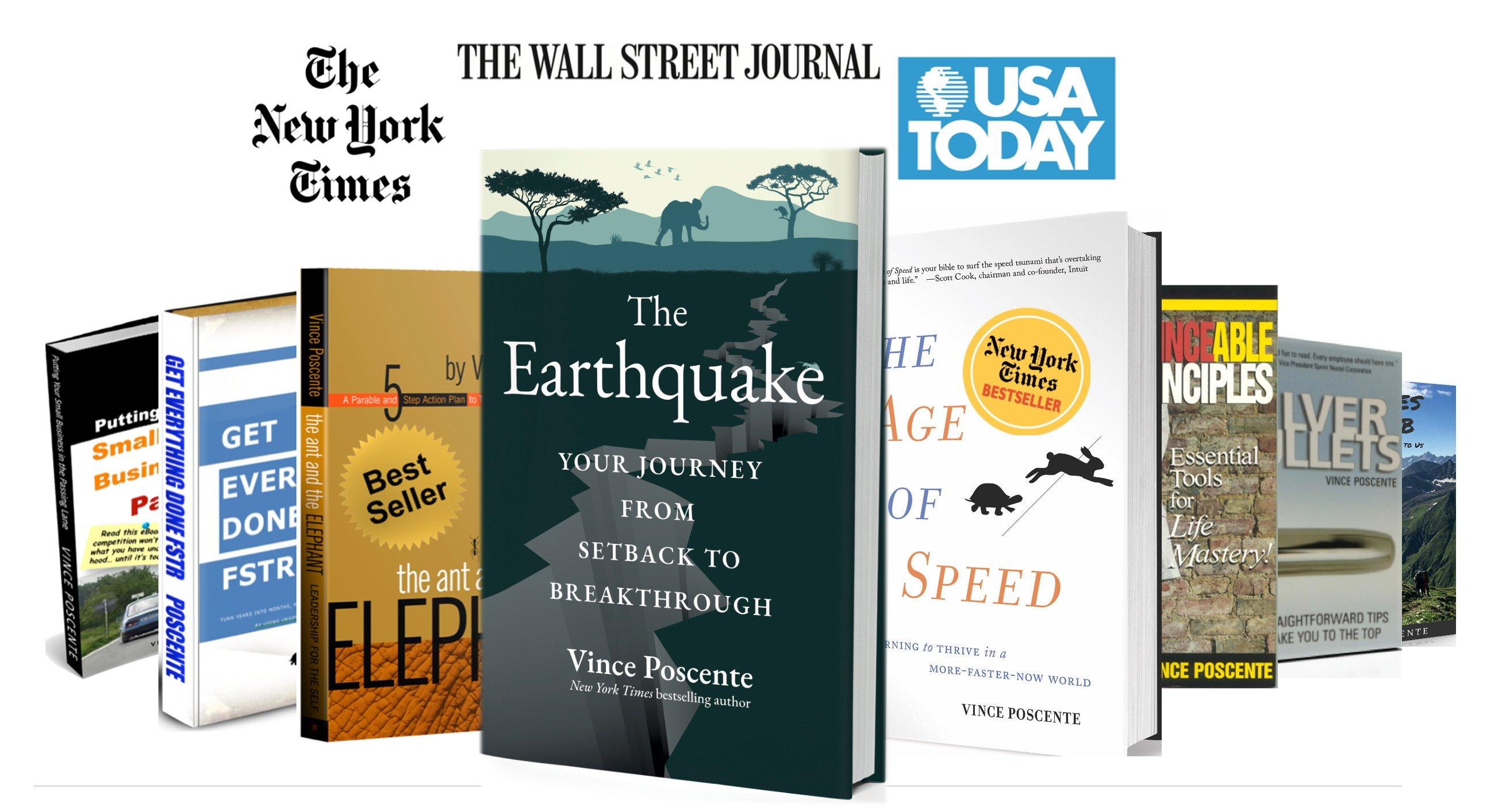 8 Books by Vince Poscente 2021 LoRes