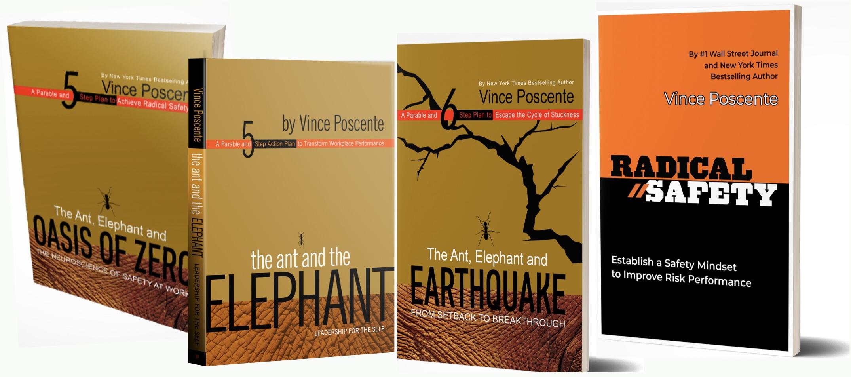 Safety books by Vince Poscente
